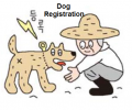 """Register your dogs even in rural areas."""